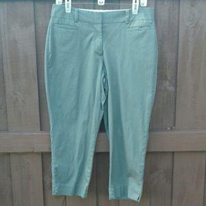 Talbots Perfect Crop curvy pants